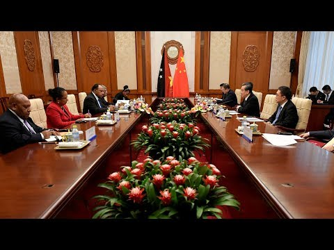 Chinese FM Says Papua New Guinea An Important Member Of Asia-Pacific Family
