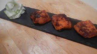 Tandoori Fish With Cucumber Raita | Sanjeev Kapoor Khazana