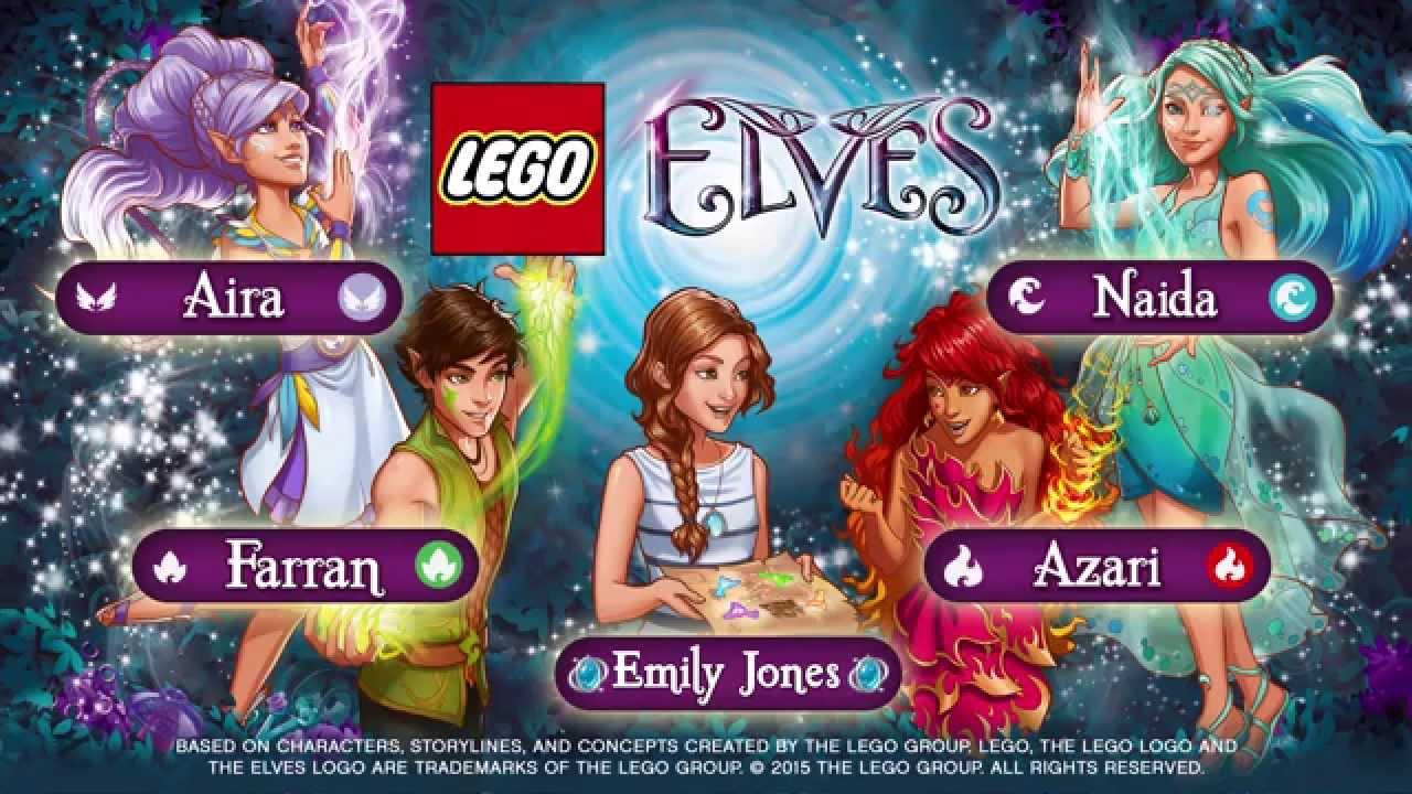 Ausmalbilder Lego Elves Drachen: Character Spot