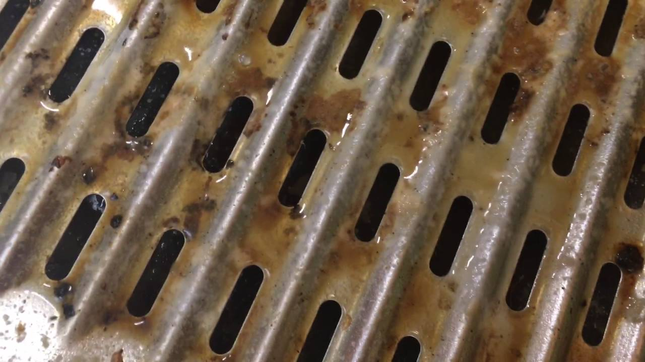 Cleaning The Broiler Pan