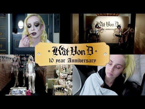 KAT VON D 10th Anniversary Party | VLOG