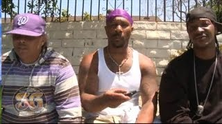 Grape Street Crips on gang injunctions & possible peace with East Coast Crips