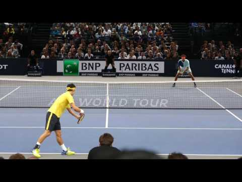 Kei Nishikori vs Jo Tsonga - PARIS 2016 Highlights HD