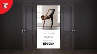 PILATES с Ириной Странцевой 21 января 2021 Онлайн тренировки World Class