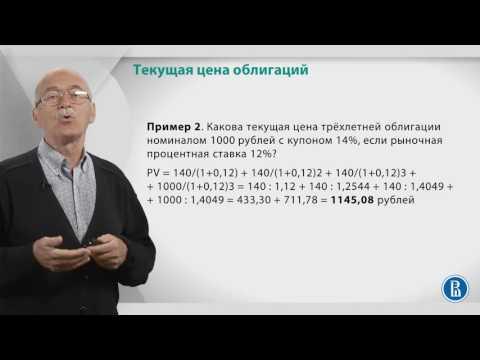 Курс лекций «Фондовый рынок». Лекция 7: Как посчитать цену облигации