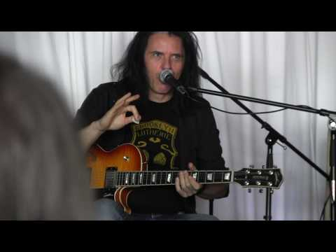 Alex Skolnick @Music Zoo  Part 2 Allan Holdsworth stuff