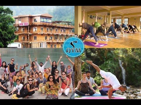 Yoga Teacher Training in India - AYM Yoga School