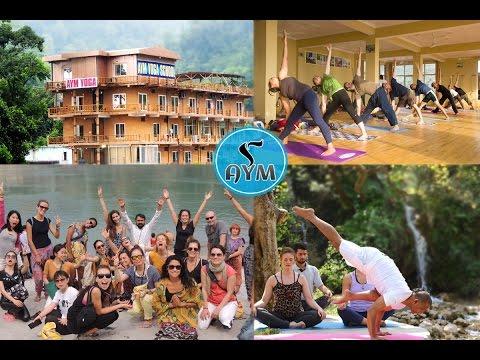 Yoga Teacher Training in India - AYM Yoga School