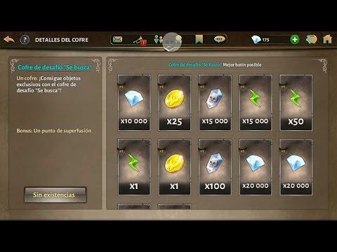Dando 20000 De Gemas En Los Cofres Y Explicando Modo Cooperativo  Dungeon Hunter5