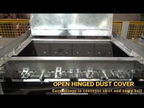 Hinged Conveyor Dust Cover : H & B Mining