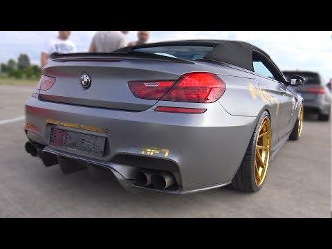 720HP BMW M6 F13 Convertible HPT - REVS & ACCELERATIONS!