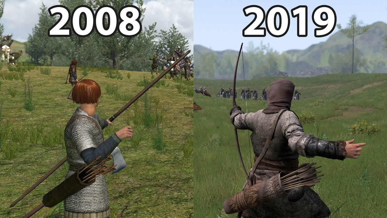 Mount Blade Vs Mount Blade 2 Bannerlord Youtube
