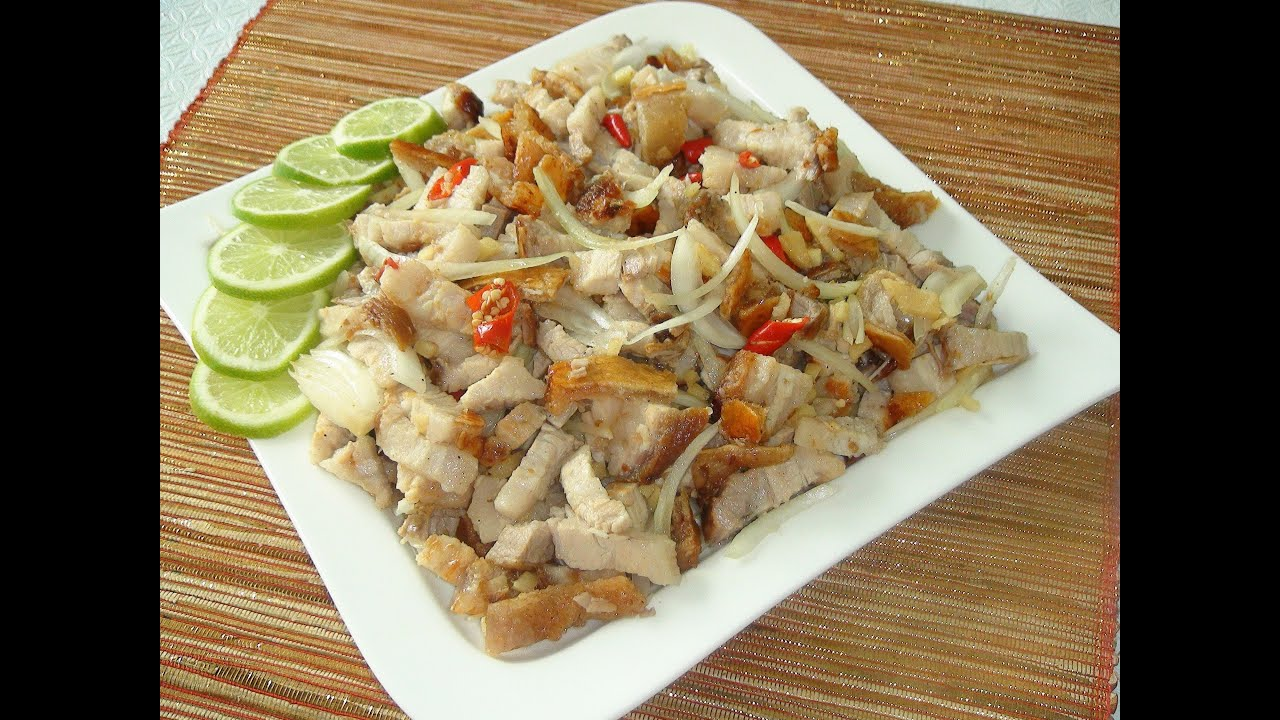 Pinoy recipe how to make dinakdakan ilocano style or sisig pinoy recipe how to make dinakdakan ilocano style or sisig tagalog style grilled pork belly youtube forumfinder Images