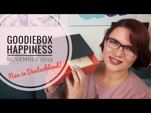 NEU In Deutschland! | Goodiebox Happiness | Unboxing November 2019 Mit über 100 Euro Gesamtwert ❤