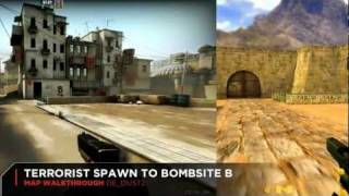 CS 1.6 vs CS:GO de_dust2 Map Comparison: Graphics, Layout, Design Differences Over Time