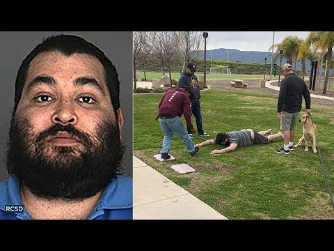 Qui West - Sex Offender Held Down By Family & Bystanders In Lake Elsinore!