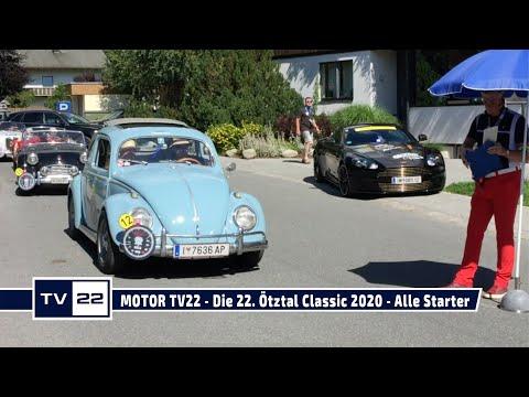 MOTOR TV22: Die 22. Ötztal Classic 2020 - Alle Starter Teil 1
