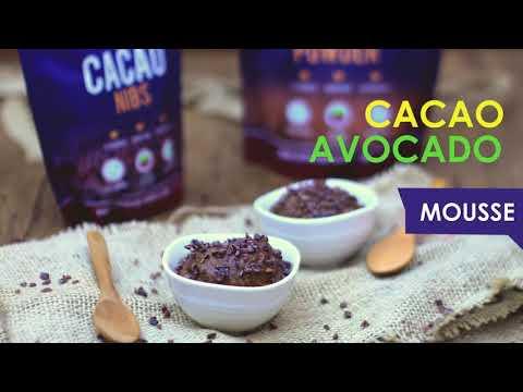 Cacao Avocado Mousse Recipe -  Superfood World