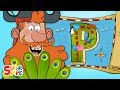"""Captain Seasalt and the ABC Pirates discover a delicious Prize on """"P"""" Island 