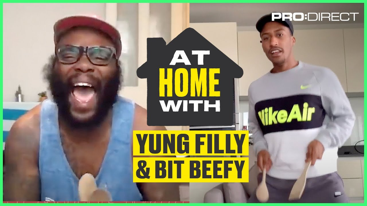 POTS, PANS & UMBRELLAS?! BIT BEEFY PUTS FILLY TO WORK | At Home With...