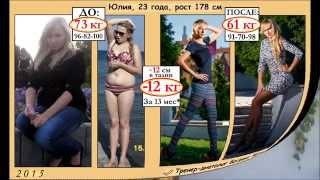Юля, 23 года, сбросила 12 кг
