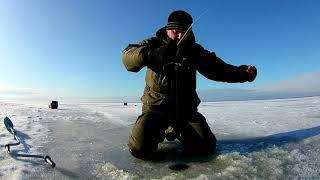 РЫБЫ МНОГО НО КЛЕВАТЬ ОНА НЕ ХОЧЕТ Рыбалка на Горе море Подводные съемки