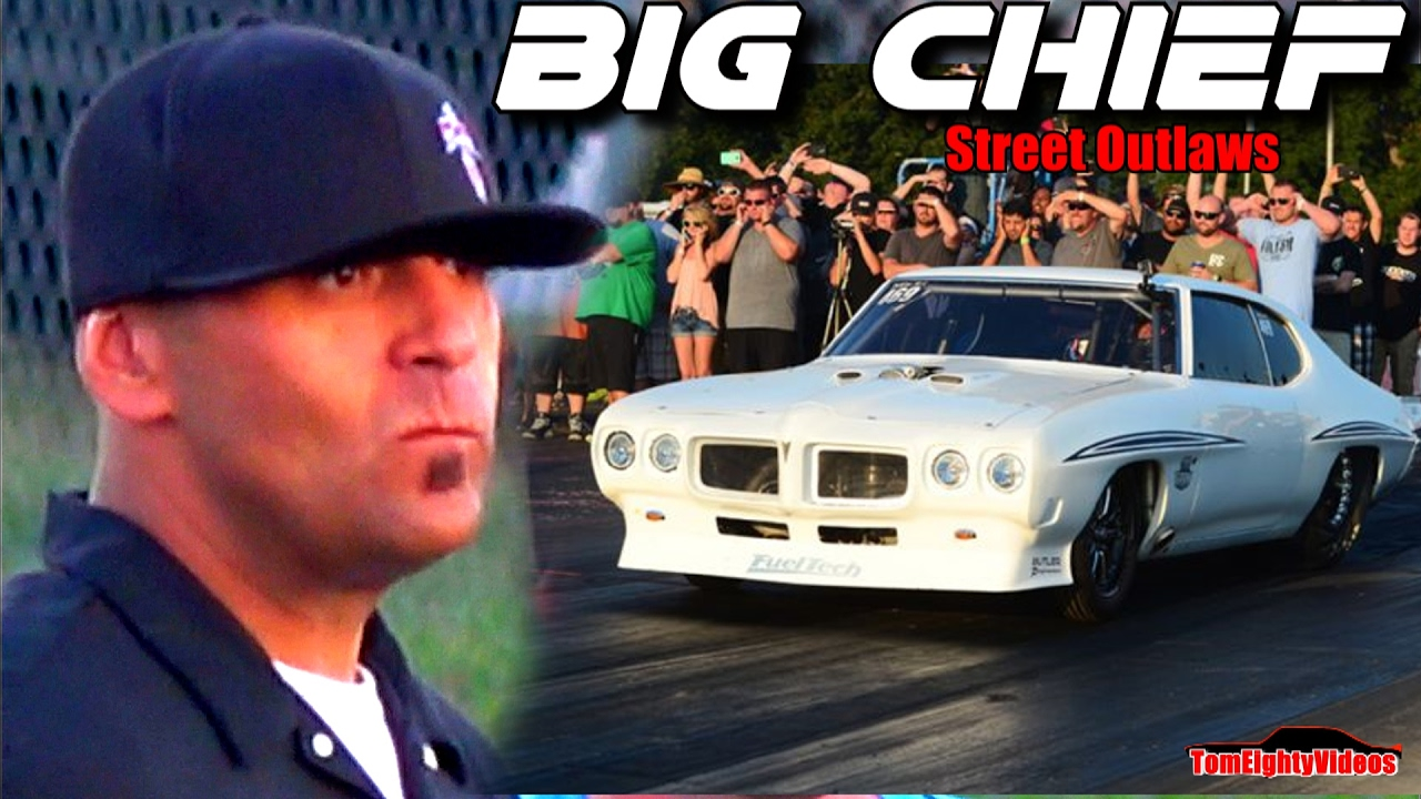Street Outlaws Big Chief Wins 20k Race At Outlaw