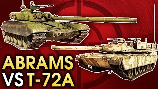 Abrams vs T-72A / War Thunder