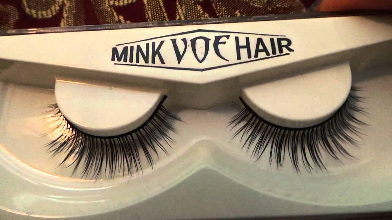 Charlie Mink Eyelashes By Voe Available On Amazon Youtube