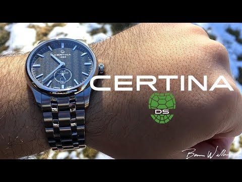 Solid value for money -  Certina DS-4