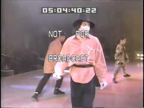 Michael Jackson Dangerous World Tour 1993 Rehearsal - Dangerous #2 - (Orange Shirt)