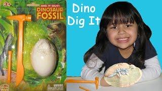 Surprise Eggs Dinosaur Toys Dino Dig Excavation Fossils Skeletons Dig It Out Mp3
