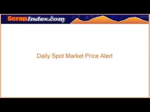 Spot Market Price of Mixed Scrap Iron & Steel for June 12, 2014