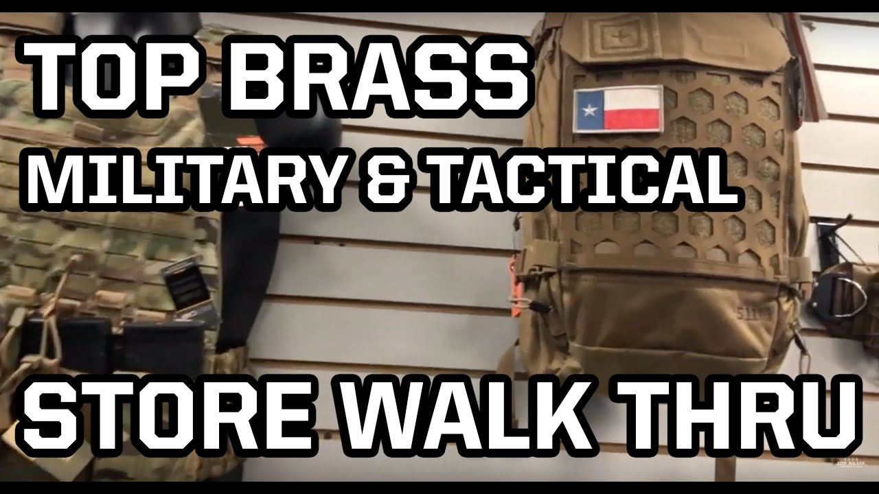 Top Brass Military & Tactical's 20,000sq ft Mega Retail ...