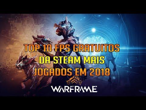 🎮TOP 10 FPS GRATUITOS DA STEAM MAIS JOGADOS EM 2018(jogos De Tiro)🎮