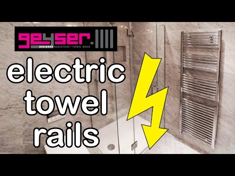 Electric Towel Rail – Consumer Guide To Buying, Operating & Installation