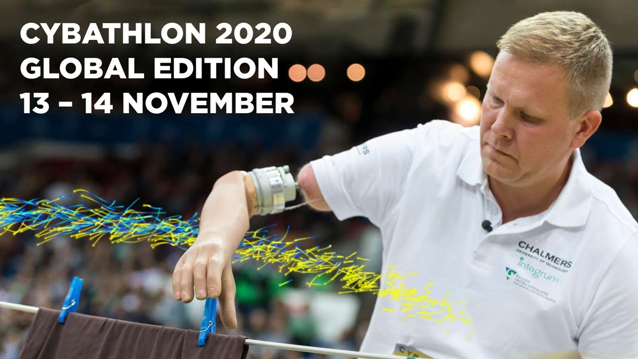 """CYBATHLON 2020, las """"Olimpiadas"""" de los Ingenieros Biomédicos serán el 13 y 14 de noviembre"""