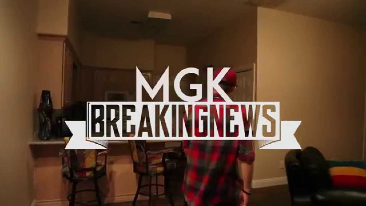 MGK-Breaking News | Kevin Medlin | Freestyle - YouTube