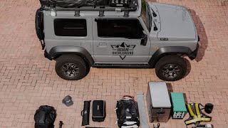 How I pack my 2019 Suzuki Jimny for Overlanding (2019)