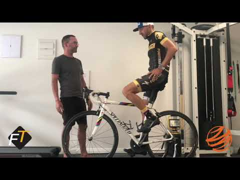 Correct cycling posture and technique on the Indoor Trainer