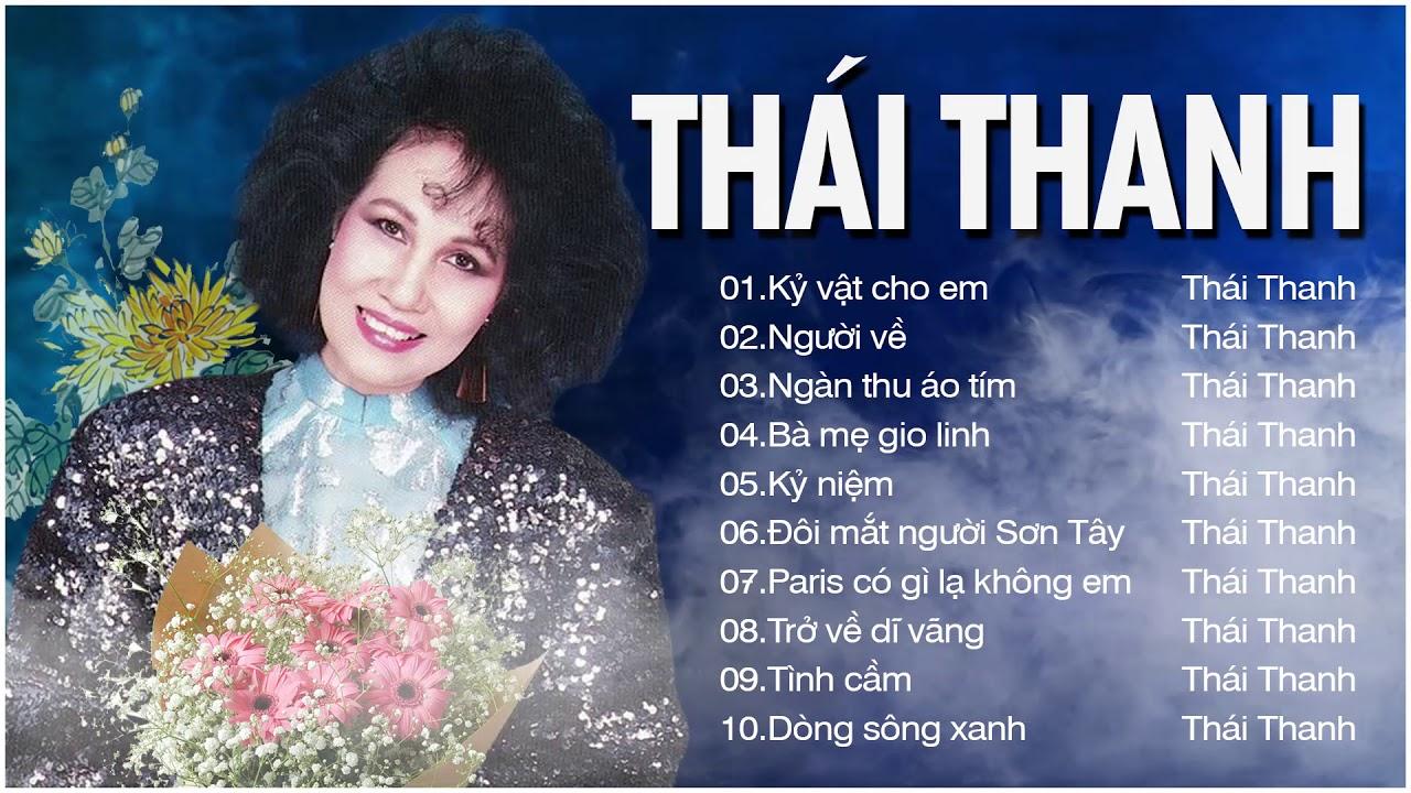 Thái Thanh – Những Tình Khúc Hay Nhất Thập Niên 90 Của Tiếng Hát Vượt Thời Gian Thái Thanh