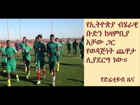 DireTube Sport - Ethiopia Walia Ibex will play friendly match against Zambia