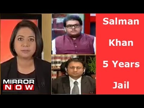 Is The 5 Year Term For Salman Khan, Justified Or Harsh? | The Urban Debate With Faye D'souza