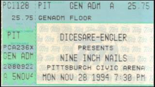 Marilyn Manson - Civic Arena, Pittsburgh, PA 1994/11/28