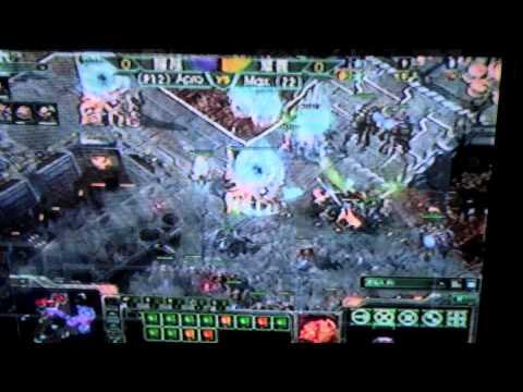 Taiwan eSports League (TeSL) footage - SC2 progaming scene