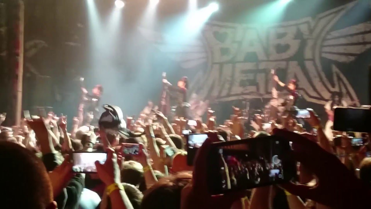 babymetal@house of blues chicago - road of resistance - 2016.05.13