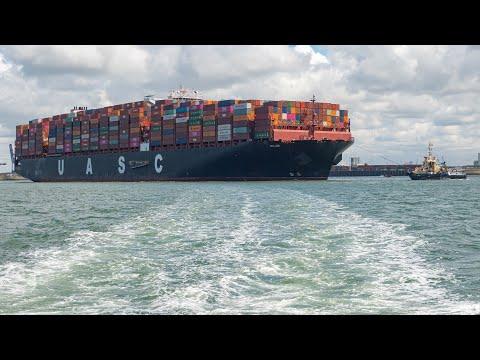 Shipspotting Rotterdam / Hoek van Holland / Nieuwe Waterweg / Storm / Maasvlakte