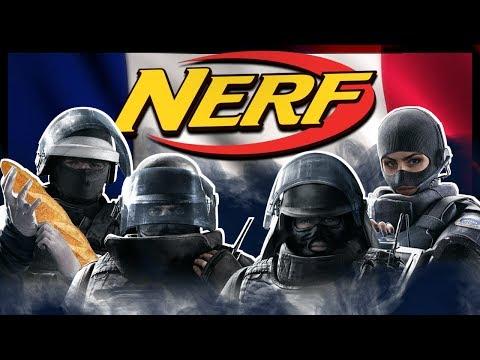 Nerf GIGN - Rainbow Six: Siege