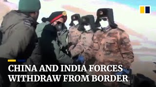 China reveals details oḟ 2020 border clash with Indian troops after both sides complete pullback