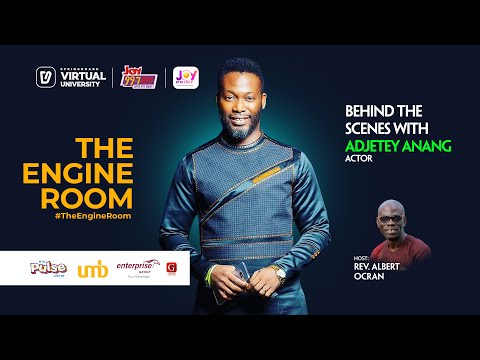 In #TheEngineRoom with movie star Adjetey Anang aka Pusher on Springboard, your Virtual University